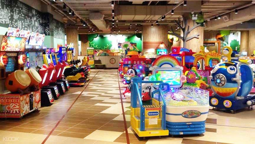 Thre are fun and interesting games with different rides and facilities